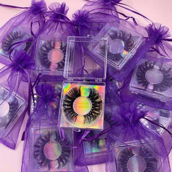 Eyelash Box With Extra Packaging
