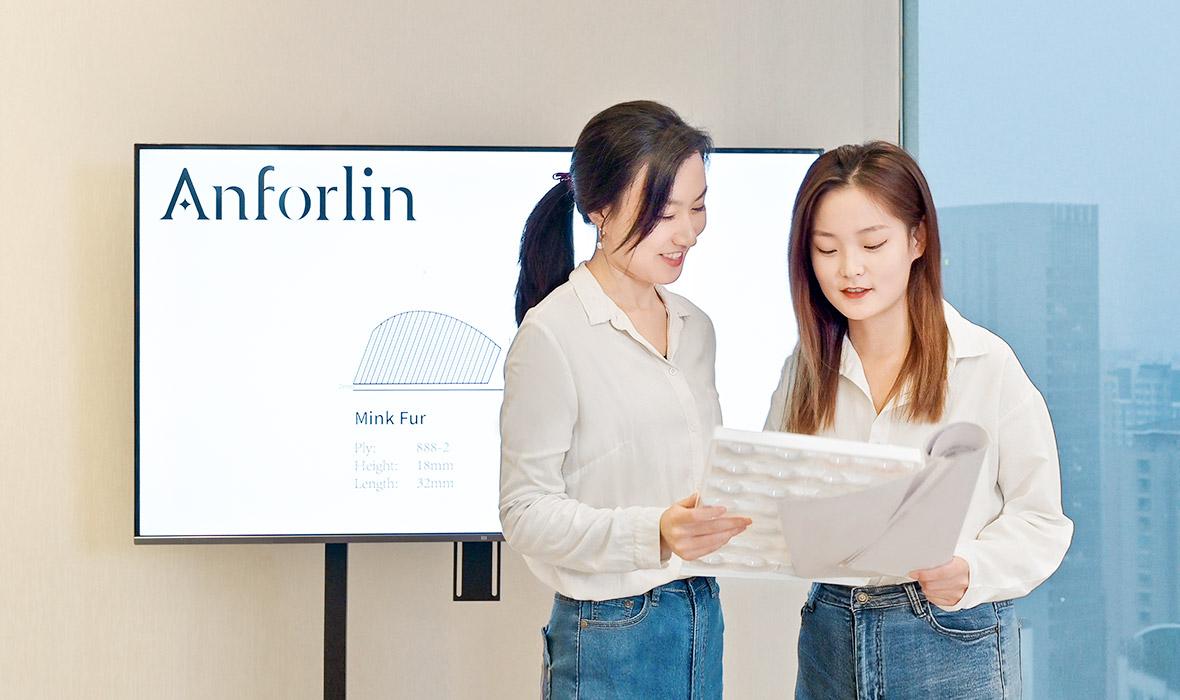 Eyelashes Company - Anforlin