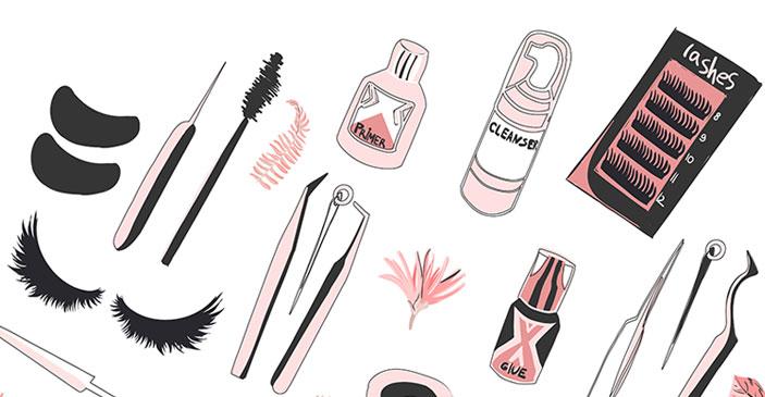 Lash Extensions Tools